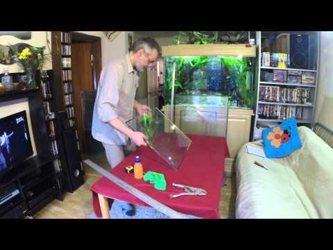 Fish tanks cutting glass....
