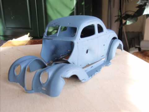 How to do a REALLY Rusty model car