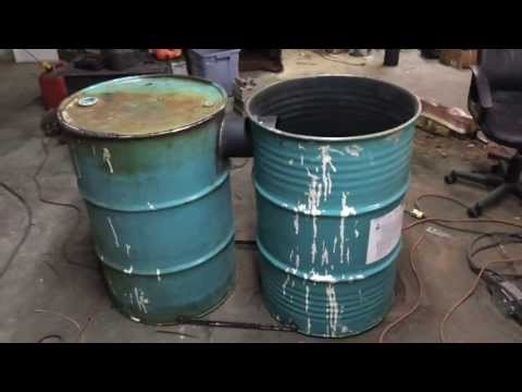 Barrel Stove Build (No Kit) - Part 1