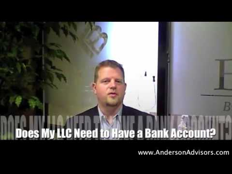 Does My LLC Need a Bank Account