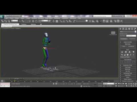 3ds Max Animation Tutorial: How Add Motion Capture Files to Biped