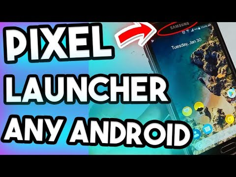 How To Get Pixel 2 XL Launcher On Any Android Phone NO Root No Nova Launcher,without nova launcher