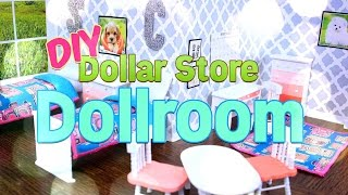Diy How To Make Dollar Store Dollroom Handmade Doll Craft 4k