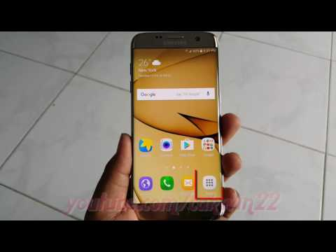 Samsung Galaxy S7 Edge : How to Disable or enable mobile data roaming (Android Marshmallow)