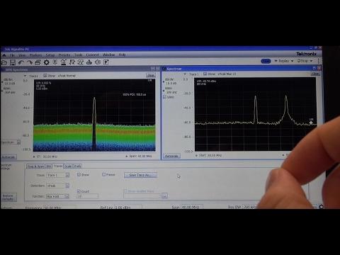 Tektronix RSA507A Spectrum Analyzer Review & Mashup - Pt1