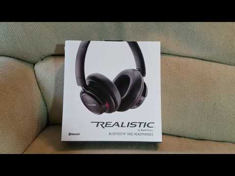 RadioShack Realistic Headphones (With Bluetooth and Active Noise Cancellation) Short Review!