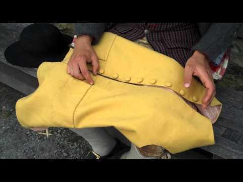 Sewing Proper Buttonholes