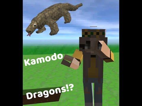 Komodo Dragons!? // Explore Craft ep. 1