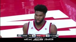 Wake Forest vs North Carolina State College Basketball Condensed Game 2018