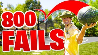 Funniest FAILS & BLOOPERS From 800 3 Pointers!
