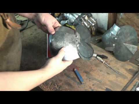 How to make medieval arm armor #4: The rerebrace