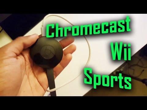Play Wii Sports Tennis on Chromecast