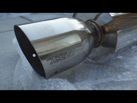 Tsudo EVO2 Catback Exhaust Review for 2003-2007 Honda Accord Coupe V6