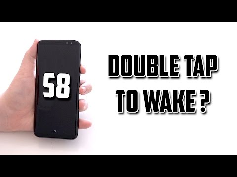 Samsung Galaxy S8 Double Tap To Wake ? (Yes)