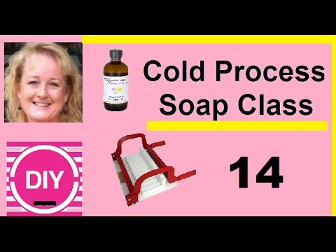 Video 14. Cutting our Soap Experiment, Cold Process Hot Lye Method