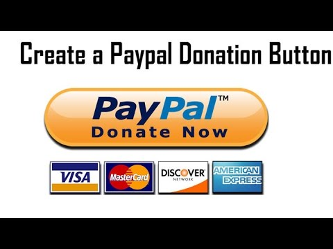How to Create and Add a Paypal Donation Button in your Youtube Channel