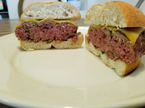 Burgers on the Big Green Egg (Infused Burger)