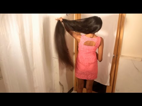 Ponytail for long hair