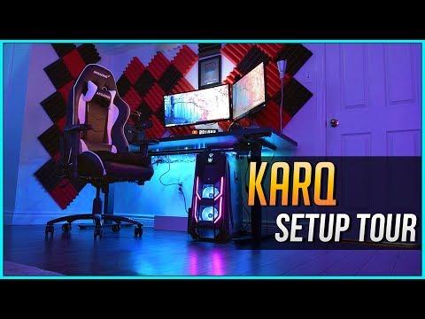 KarQ - Gaming Setup Tour 2018