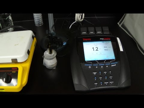 Fluoride Probe Set Up and Calibrartion, Nitrate Probe