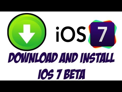 How To Download And install iOS 7 Beta - Quick and Easy