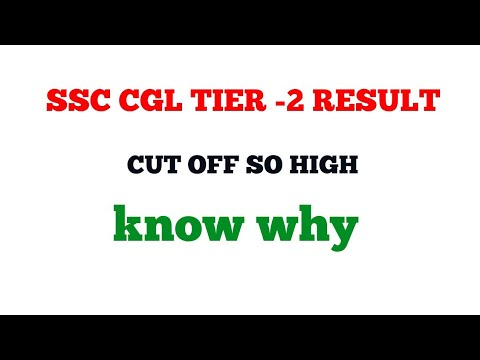 SSC CGL 2017 result # Cut off so high know why