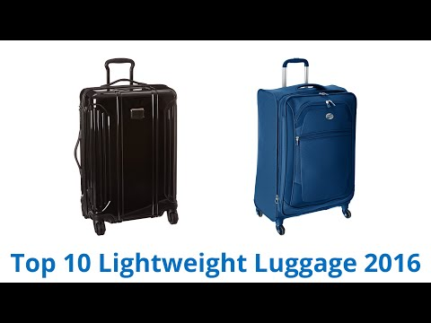10 Best Lightweight Luggage 2016