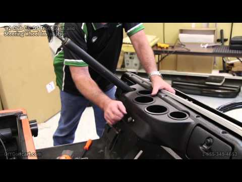 Club Car DS Dash Cover | How to Install Golf Cart Glovebox