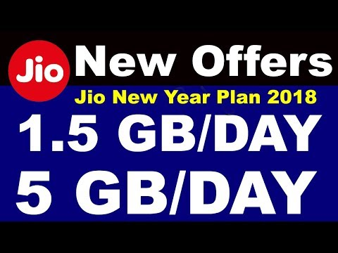 Jio new plan start with more data and validity 2018