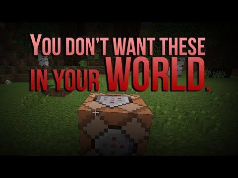 3 Deadly Command Blocks (Minecraft PE)