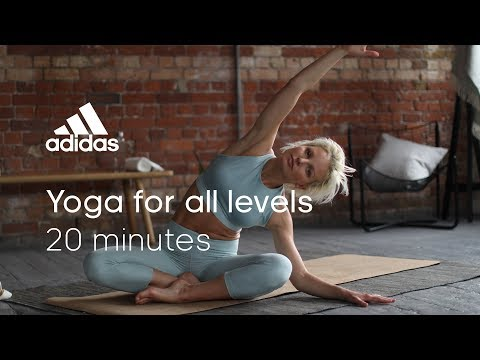 20 min Yoga for All Levels with Ida May | adidas women workouts