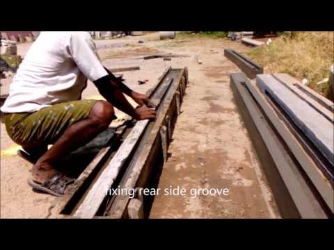 Precast  H Shape Column Making / Manufacturing
