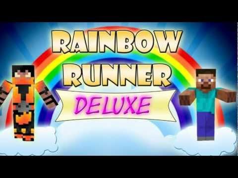 Minecraft Xbox 360 Rainbow Runner