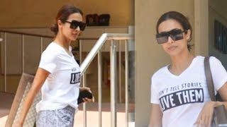 Malaika Arora SPOTTED At The Hospital AGAIN Without BF Arjun Kapoor
