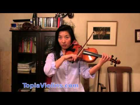 Bach Presto: Fast and Loud bowing on the violin