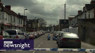 London and the rise of violent crime - BBC Newsnight