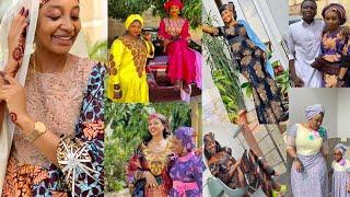 Kwalliyar sallar Rahama Sadau, Hadiza Gabon, Fati washa, Maryam Booth, da sauran matan na kannywood