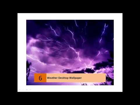 Weather Desktop Background Wallpapers