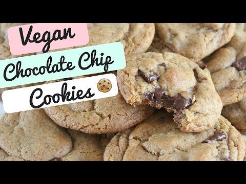 How To Make Vegan Chocolate Chip Cookies   SweetEmelyne's
