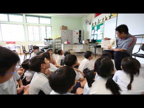 Storytelling by Parent Support Group Volunteer @ Ngee Ann Primary School