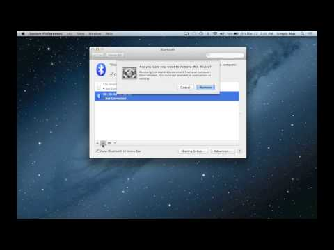 Removing Bluetooth Devices