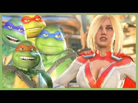Injustice 2 - ALL TMNT Vs Premier Skins Intro Dialogues [COMPLETE]