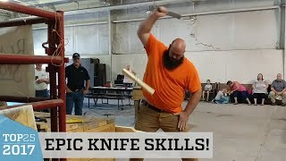 Awesome Bladesports Knife Challenge | Top 25 of 2017