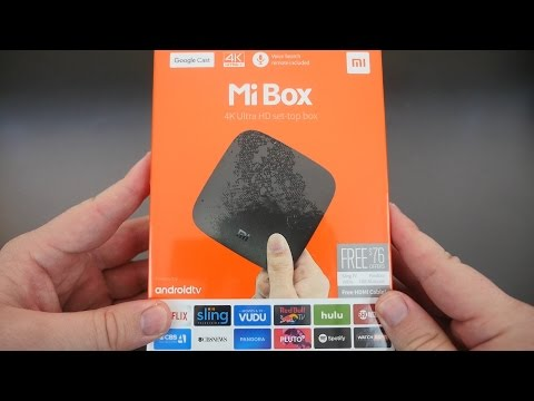 $69 Mi Box Android TV Unboxing and Overview | KODI | Netflix | Hulu | YouTube