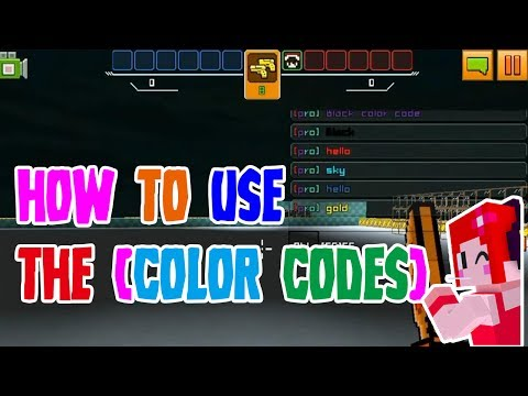 Color Code Tutorial Cops N Robbers FPS Mine Mini Game