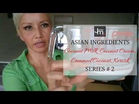 Coconut Milk, Coconut Cream, Creamed Coconut, Kerisik (#2 LIVE)