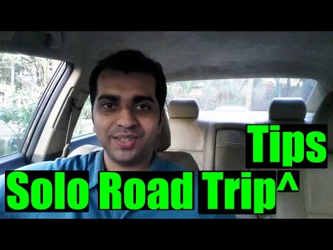 Solo Road trip tips   what I learned in 3 years of Road Trips