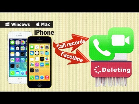 [SafeEraser]: How to Erase Deleted Call & FaceTime History from iPhone Permanently Without Restore?