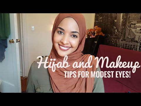 Hijab and makeup chat: EYES + 3 tips for modest makeup!