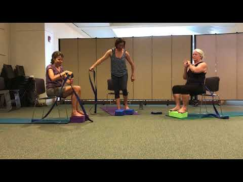 Chair-Assisted Stretching Yoga (seated)